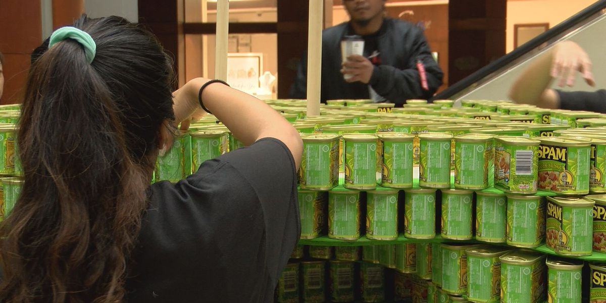 13th annual Canstruction competition kicks off in a super way