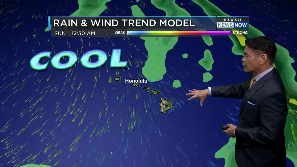 Cool weather continues, with gradual drying trend