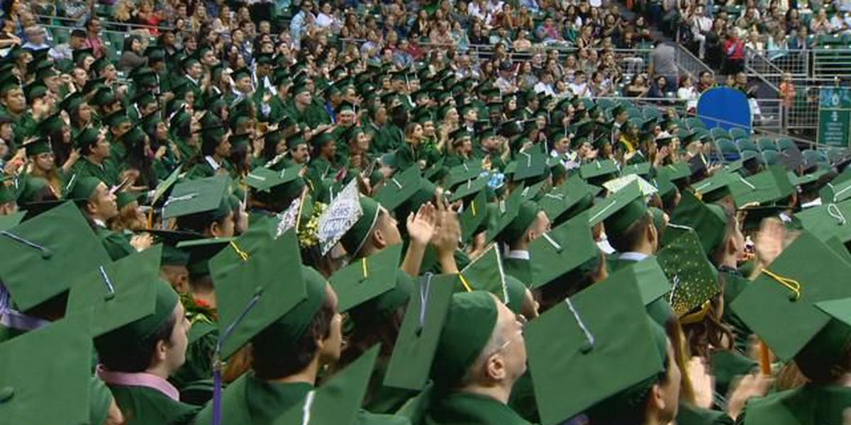 UH-Manoa welcomes thousands to campus for commencement
