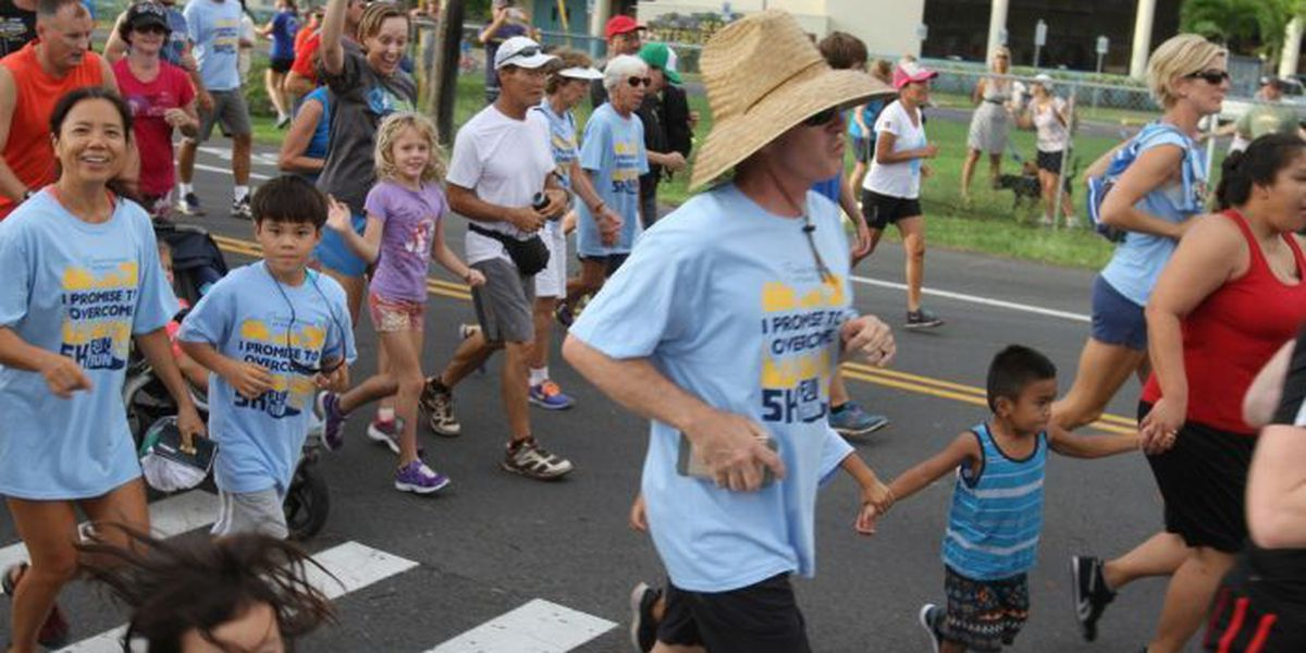 Hundreds participate in 5K to help end family homelessness