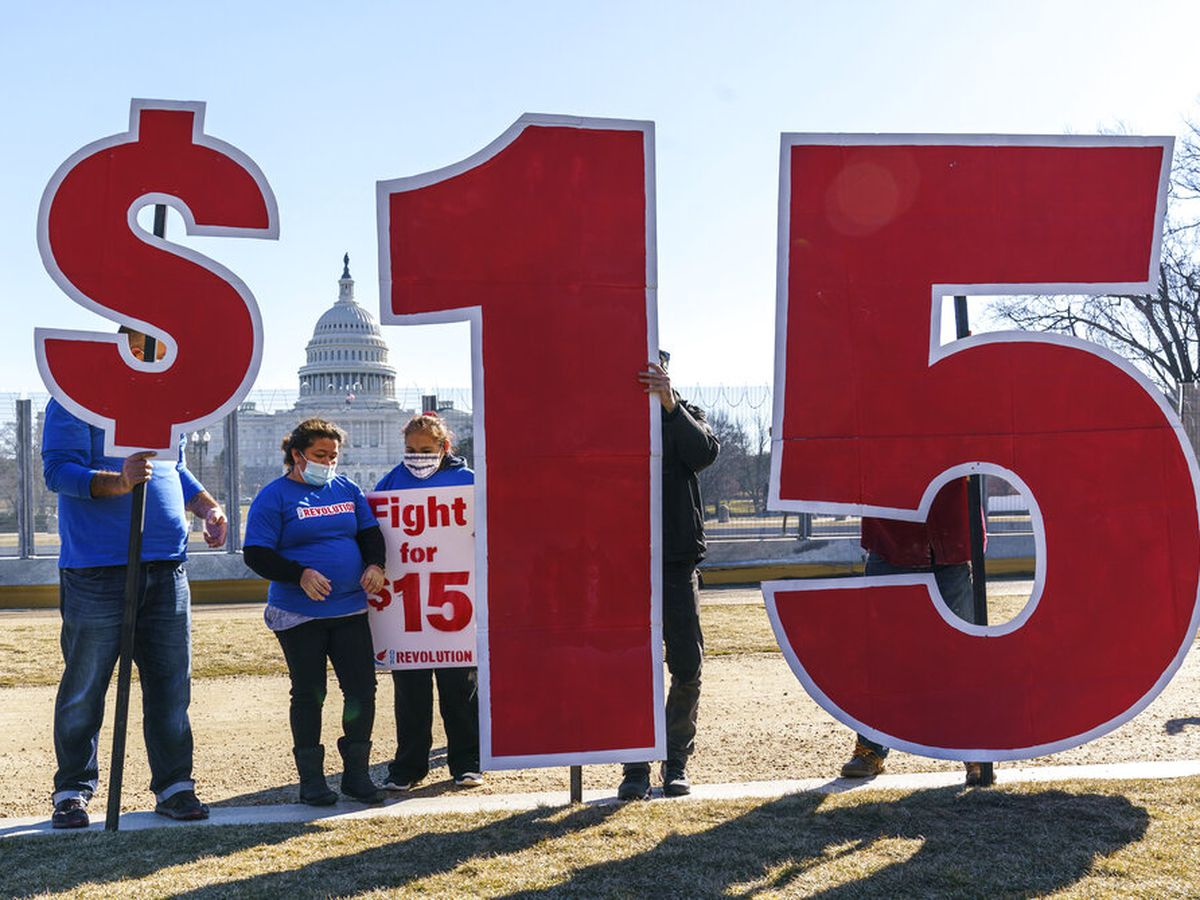 Minimum wage hike all but dead in Senate virus relief, stimulus checks bill