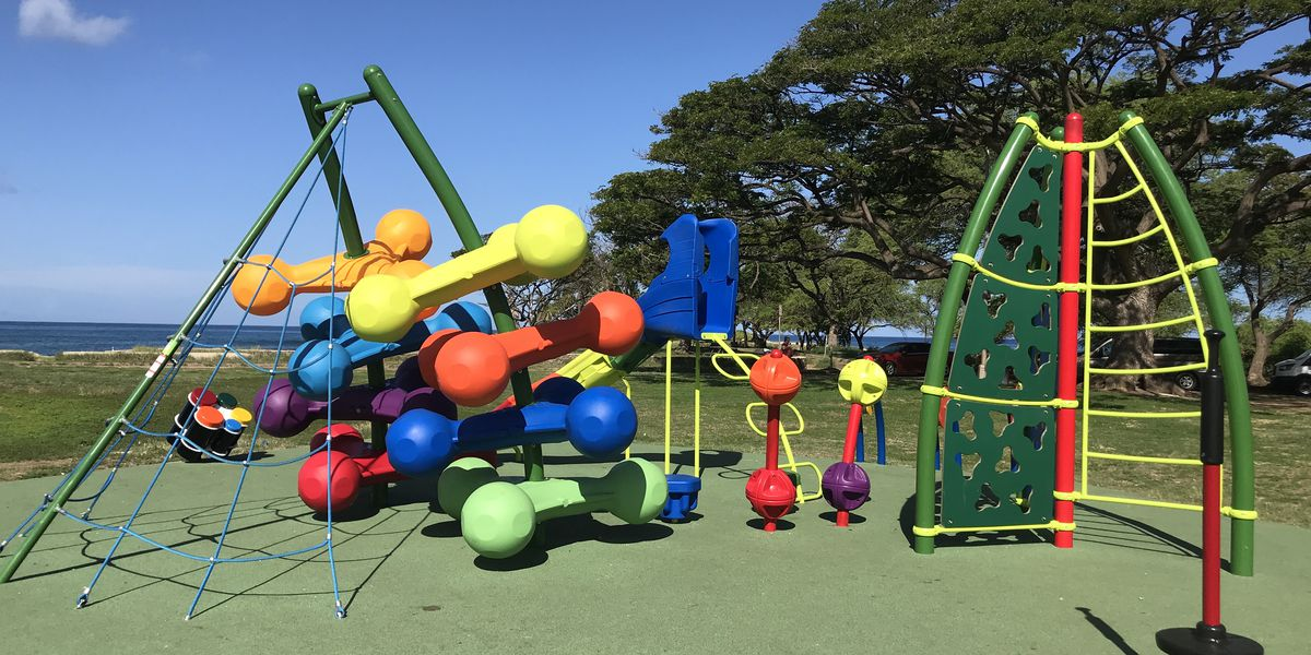 Good news, parents: Playgrounds at city parks on Oahu will reopen soon