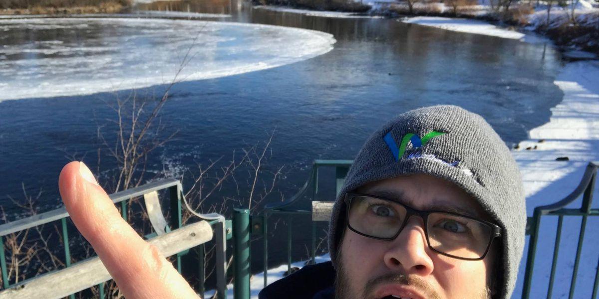 Westbrook, Maine, Ice Disk
