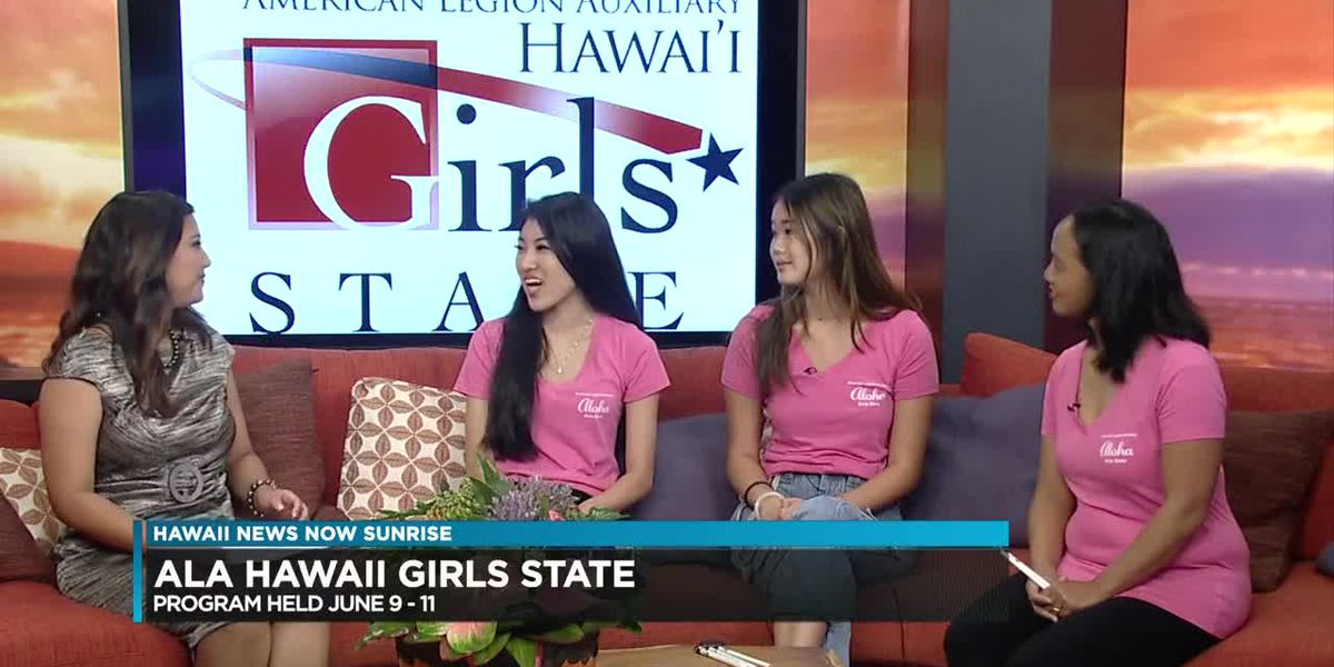 """ALA Hawaii Girls State"" is a leadership program for high school girls"