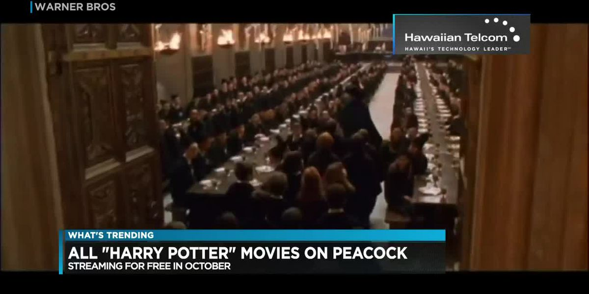 Harry Potter movies on Peacock, testing out new 'reels' feature on Instagram