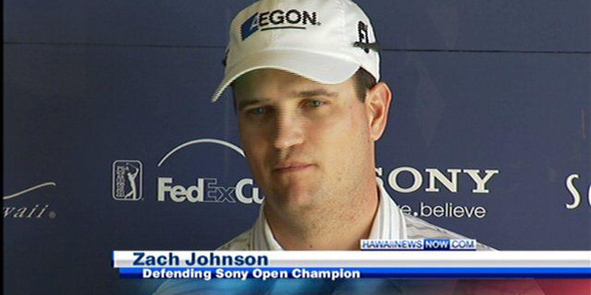 Former Sony Open winner Zach Johnson wins the British Open in a playoff