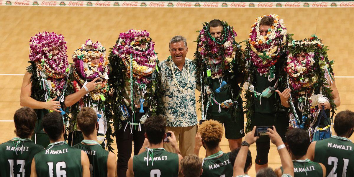 No. 1 Warriors volleyball complete undefeated season on Senior Night