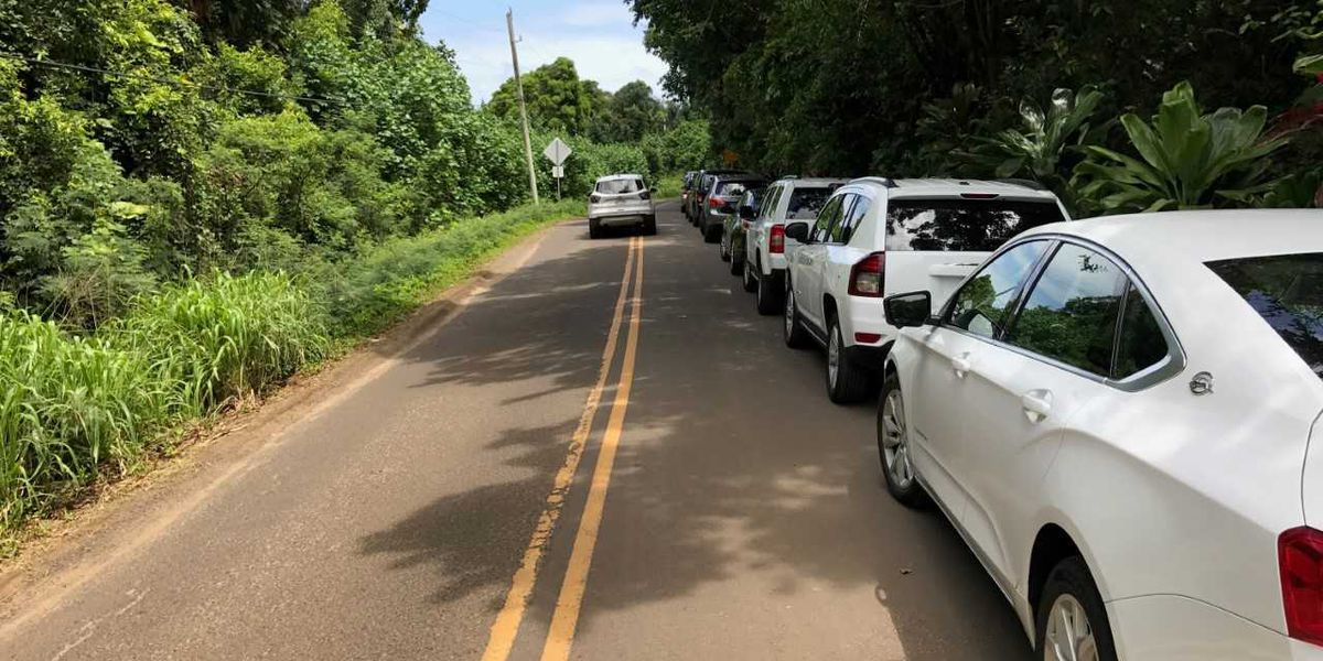 State to raise fines for illegally-parked cars along parts of Kauai's North Shore