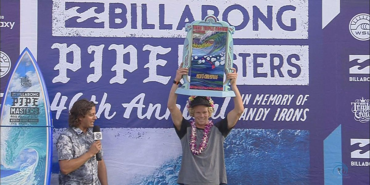 66bce554a2 John John Florence wins 2016 Vans Triple Crown of Surfing