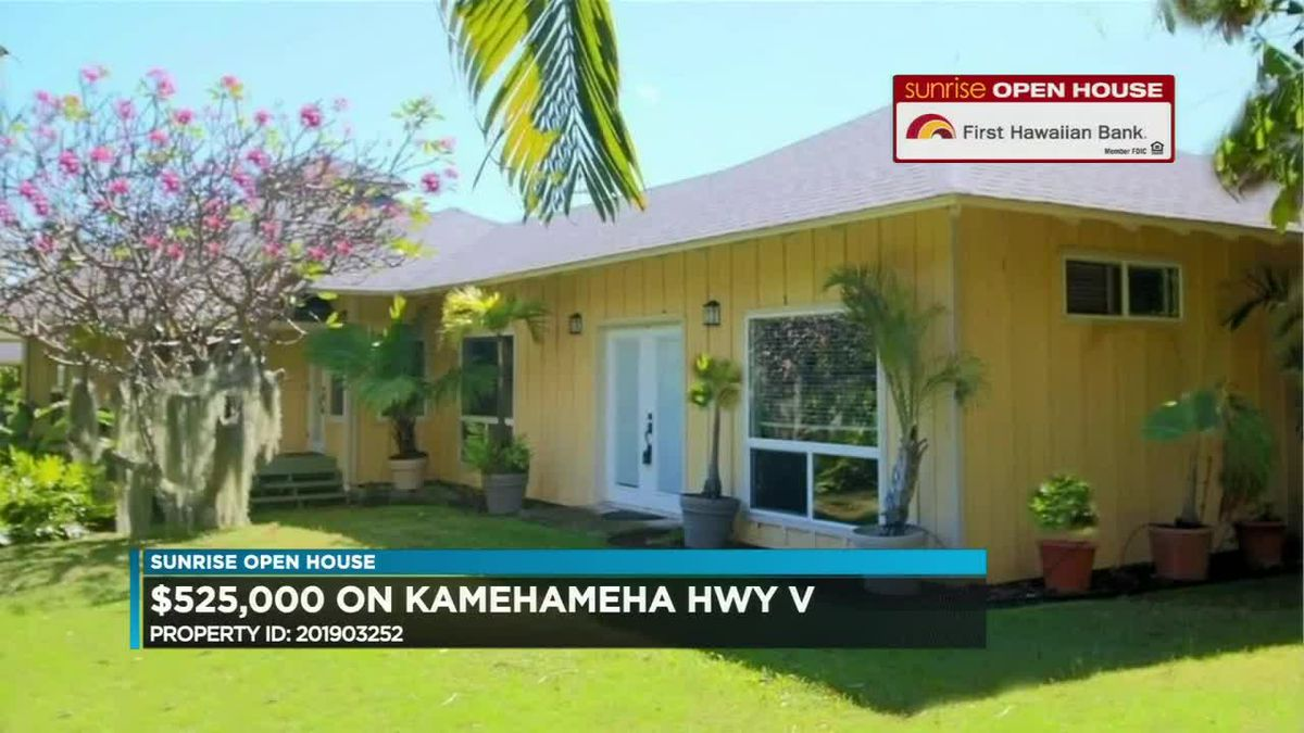 Sunrise Open House: Homes on Molokai