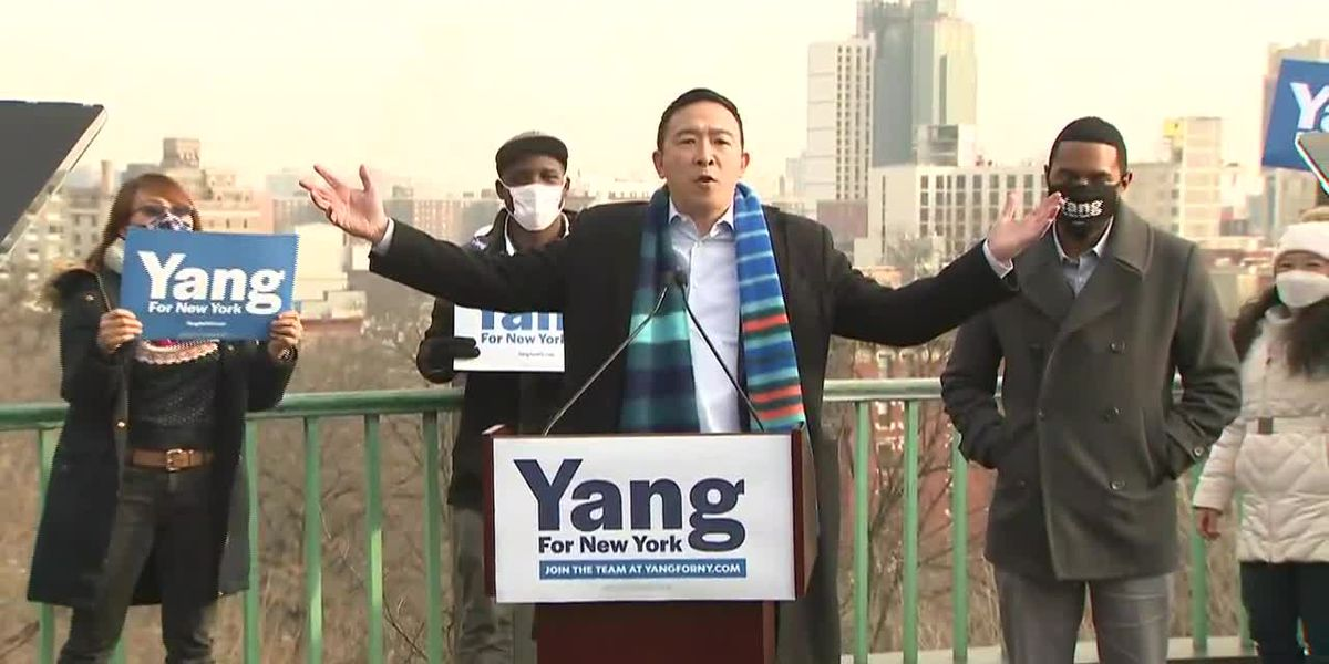 Andrew Yang announces NYC mayoral bid