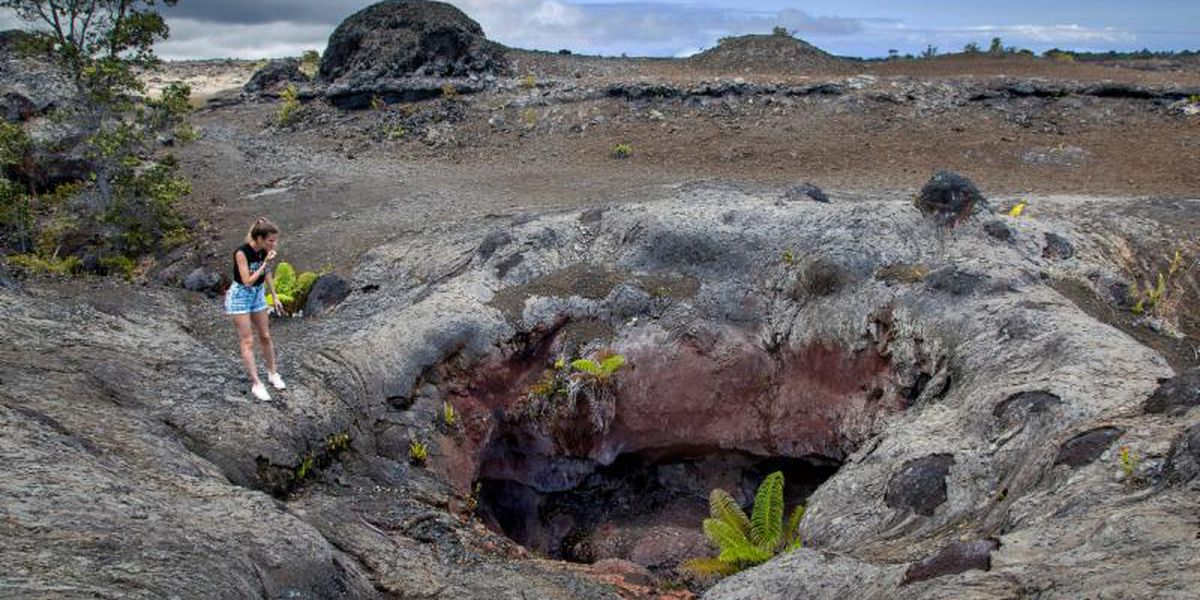 Despite lack of lava, business at Hawaii Volcanoes National Park is booming