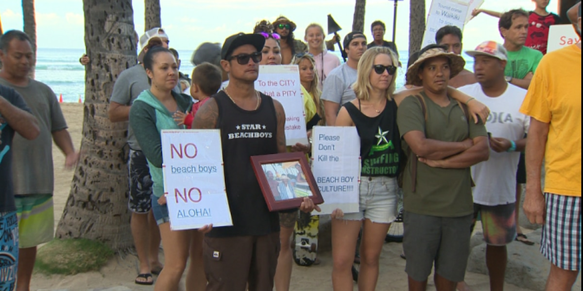Judge refuses to protect Waikiki beach boy concessions