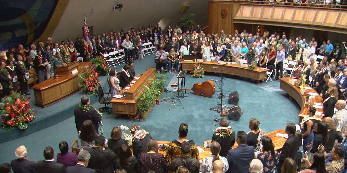 PHOTOS: Lawmakers convene for the 30th Hawaii Legislature