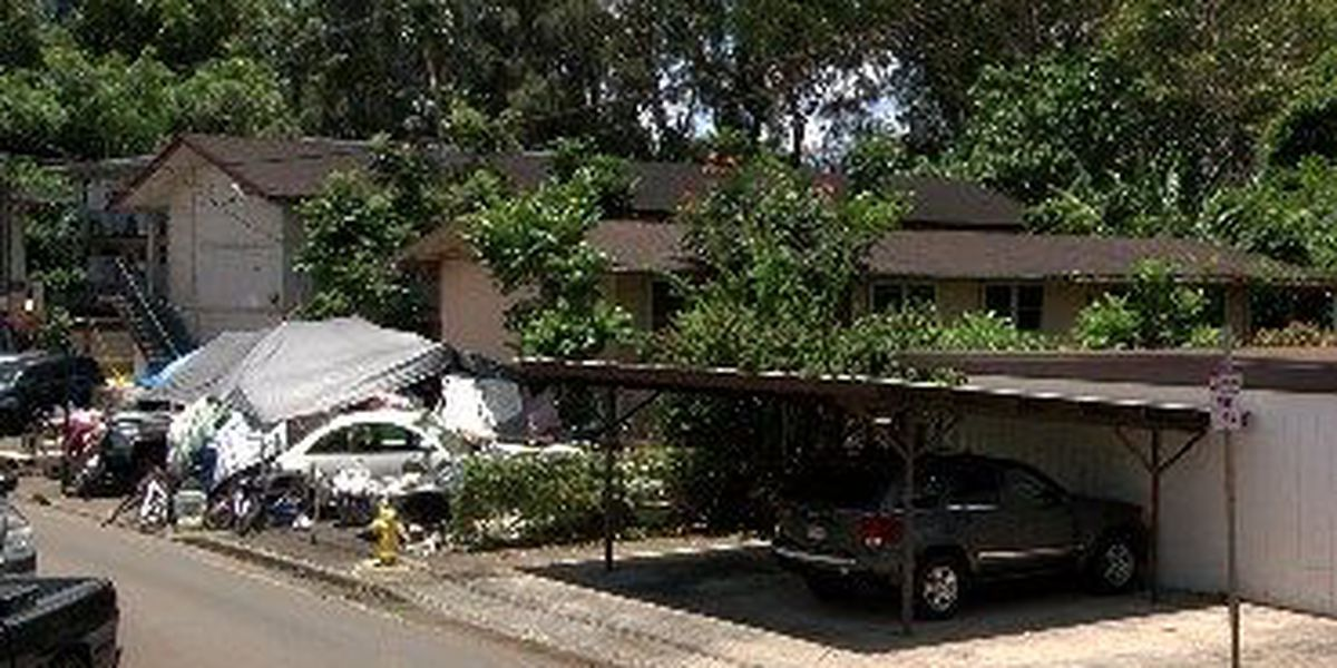 Homeless overrun Wahiawa lot as city faces legal bump in cleanup