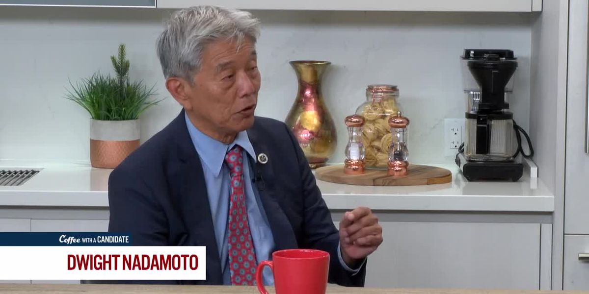Coffee with a Candidate: Dwight Nadamoto, Candidate for Honolulu Prosecutor