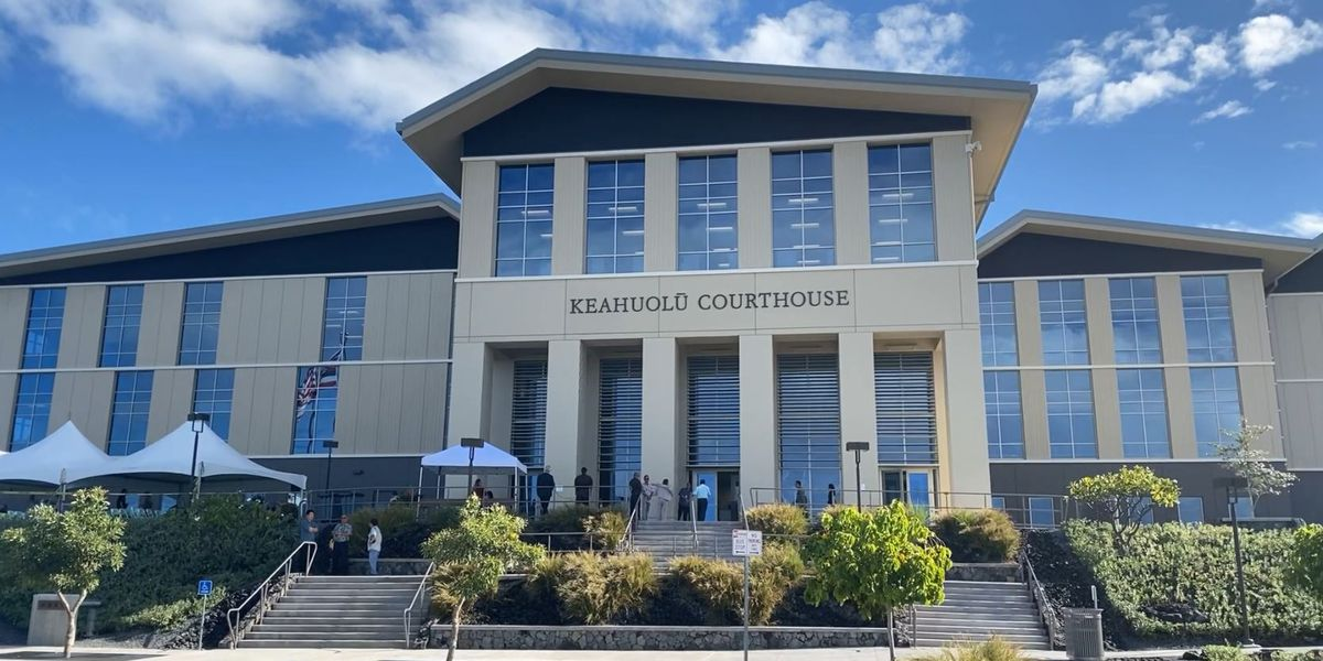 Multi-million dollar courthouse opens in West Hawaii
