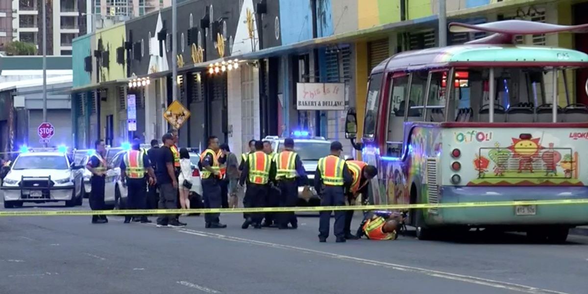Sources: Trolley bus driver who fatally struck pedestrian had bottle of alcohol on him