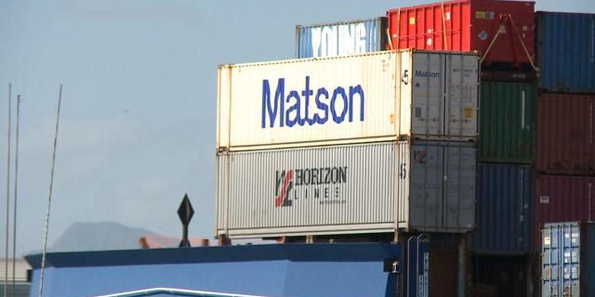 Honolulu-based ocean cargo company profit jumps 46 percent