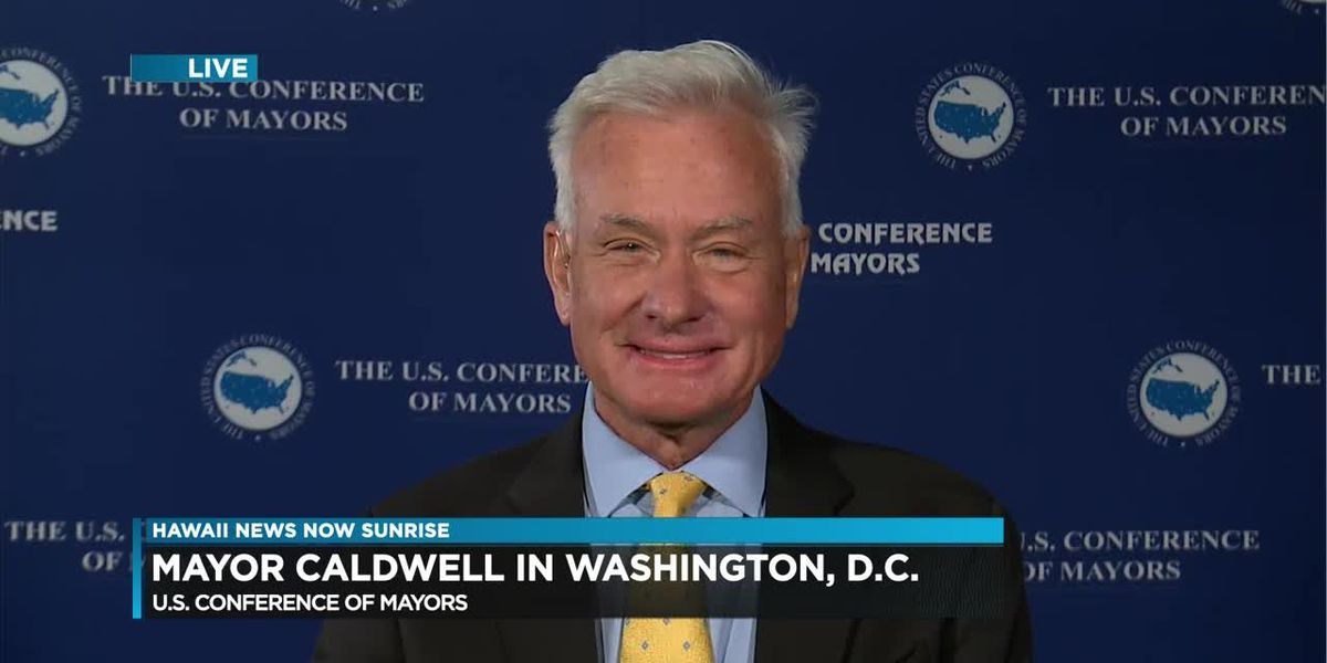 Mayor Kirk Caldwell to attend U.S. Conference of Mayors