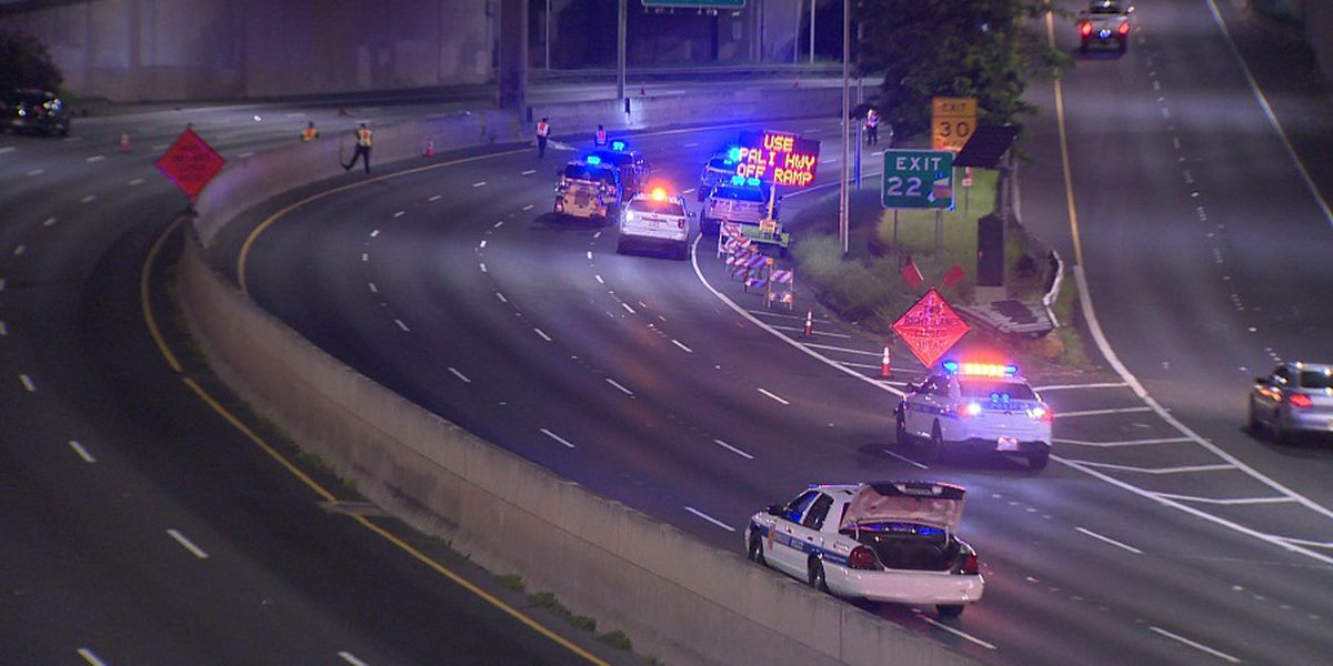 25-year-old killed in early-morning motorcycle crash on H-1 Freeway identified