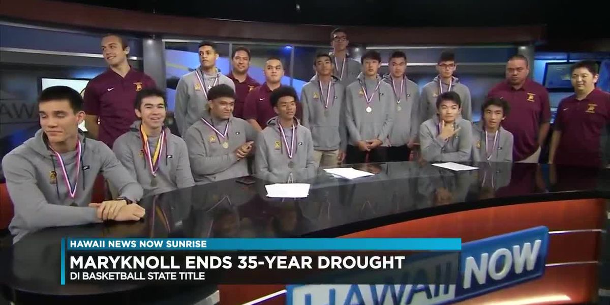 After 35 years, the Maryknoll Spartans are state champions again