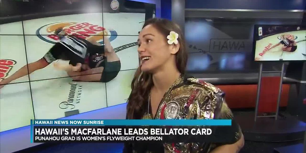 Ilima Lei MacFarlane to compete in Bellator 213