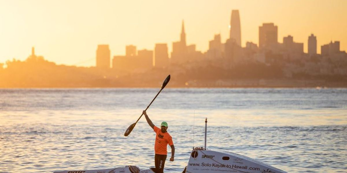 California ocean adventurer to attempt solo kayak voyage to Hawaii