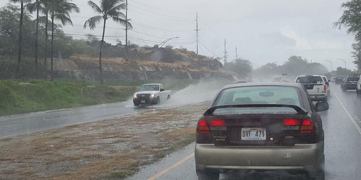 Flash Flood Warning issued Oahu