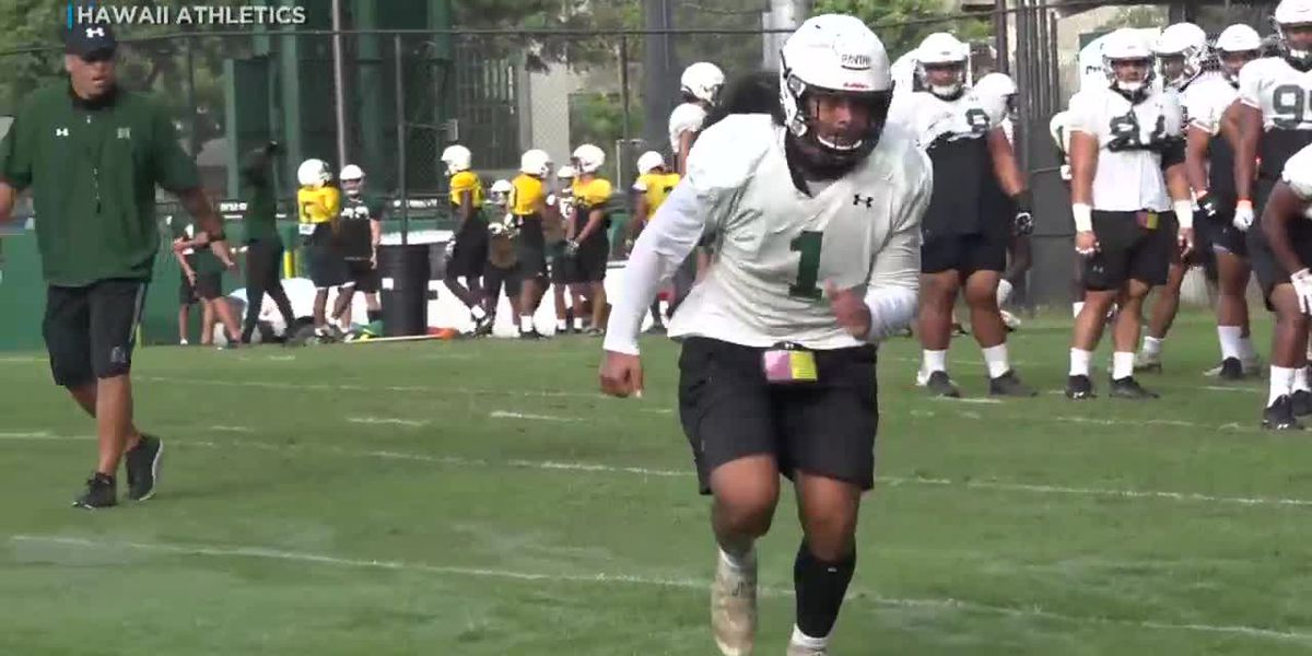 UH football's Penei Pavihi to make anticipated return from injury this Saturday against Fresno State