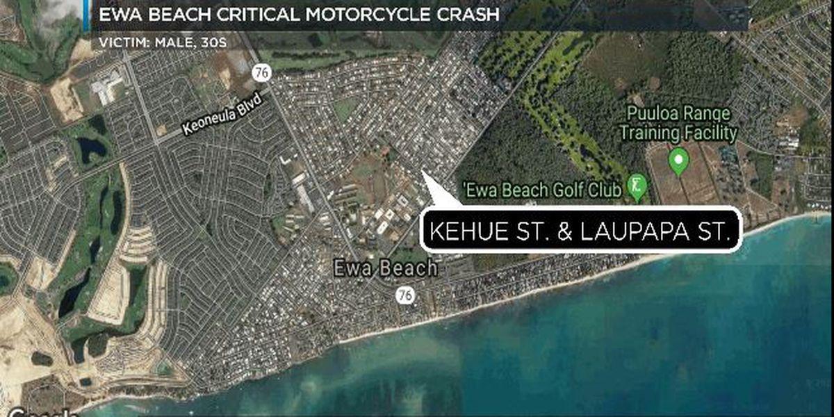 Motorcyclist killed in Ewa Beach crash identified