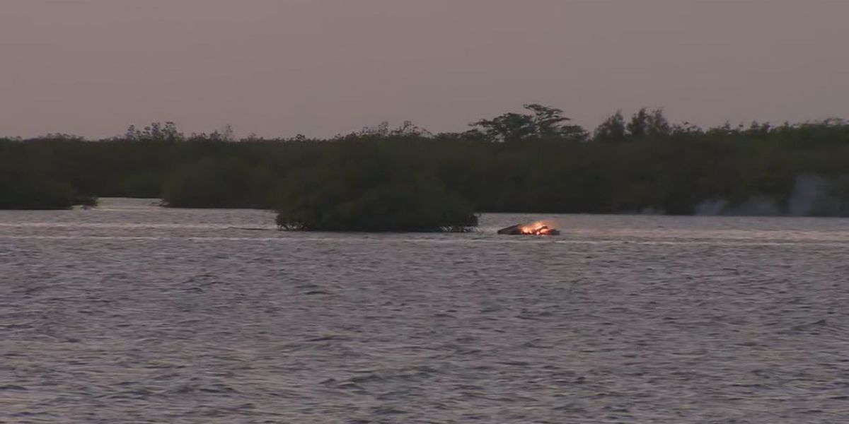 HFD responds to fire from makeshift boat or raft in Keehi Lagoon