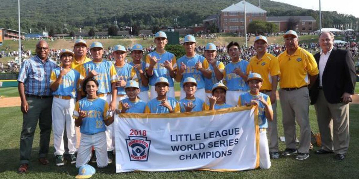 Get ready to celebrate! Parade of victors planned for LLWS Champions
