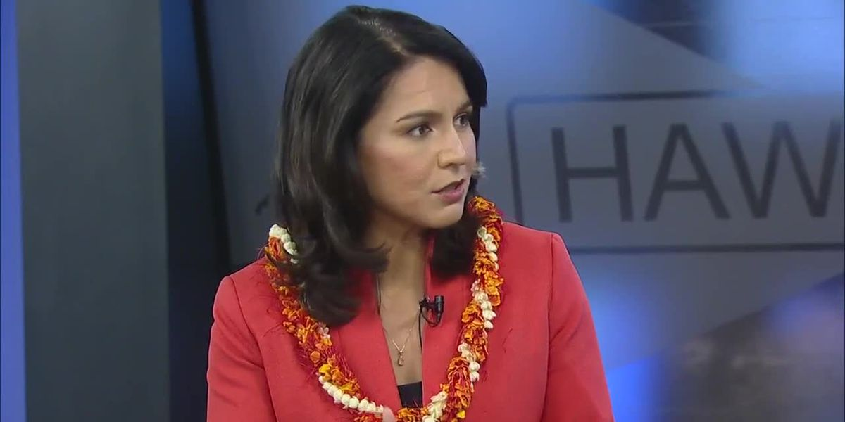 Rep. Tulsi Gabbard discusses her 2020 presidential campaign
