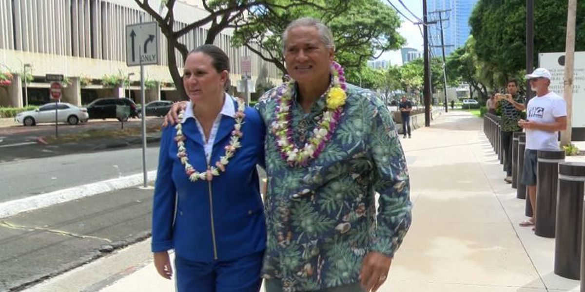 'No one is above the law': Former HPD chief, prosecutor wife indicted