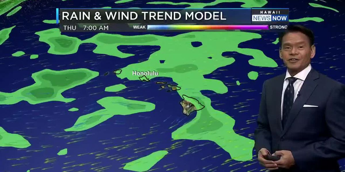 Forecast: Locally breezy trade wind weather ahead