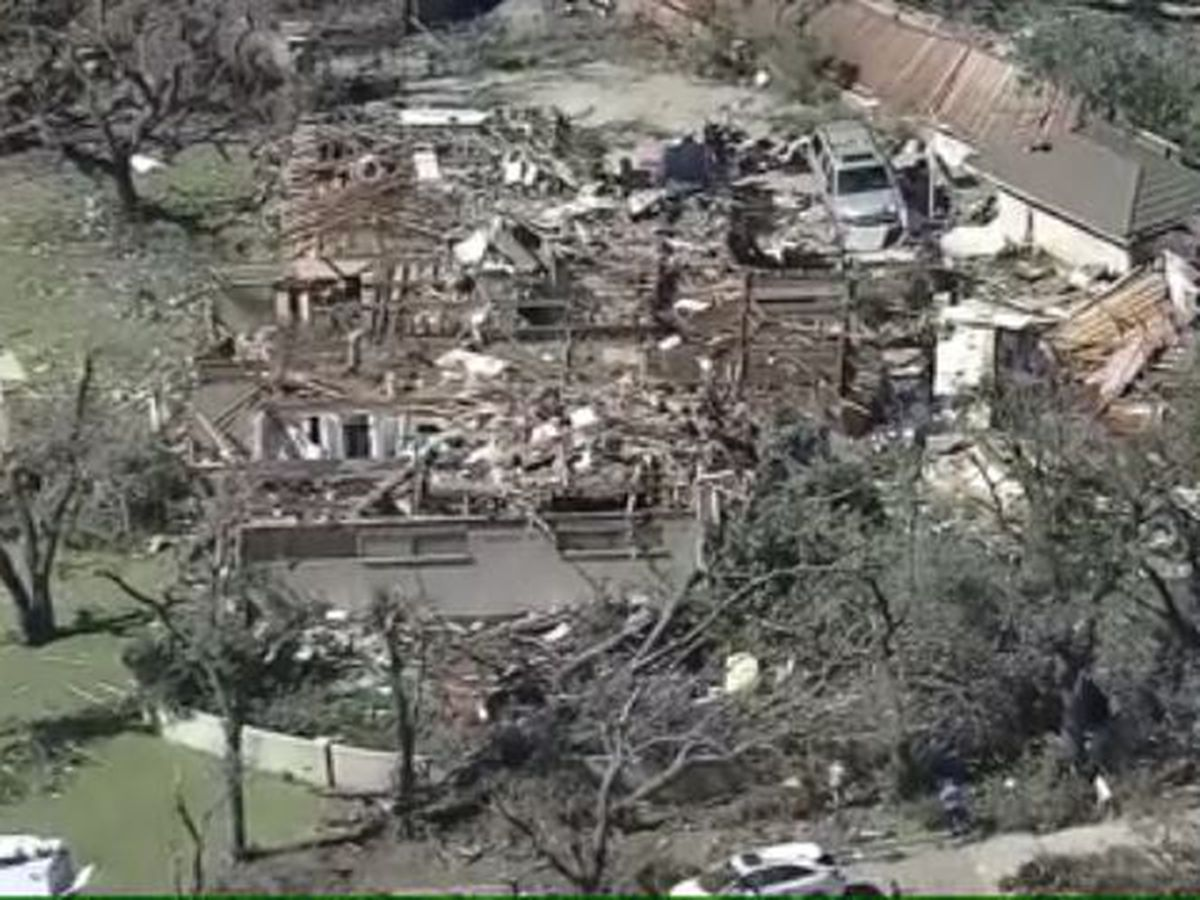 Former Hawaii residents in Texas detail frightening night of tornadoes