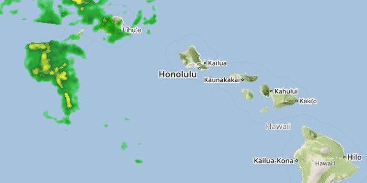 Flash Flood Watch posted, expanding to Maui County