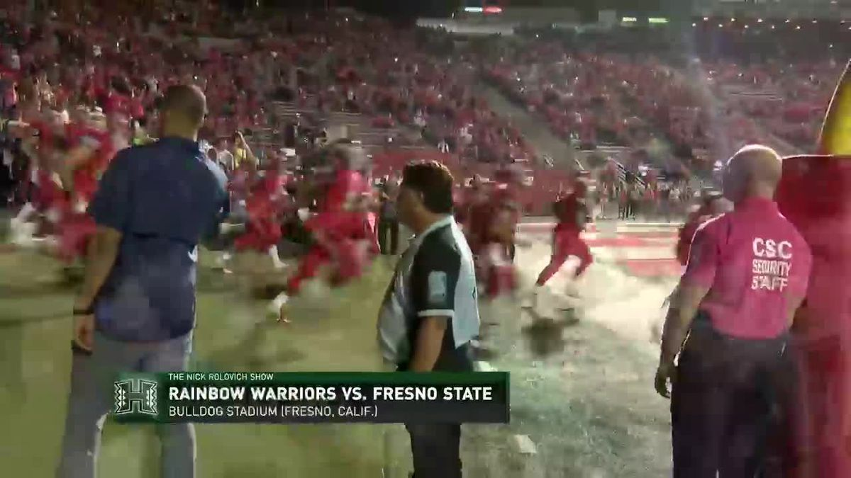 The Nick Rolovich Show: Rainbow Warriors fall to Fresno, 50-20