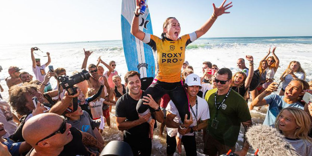 Carissa Moore captures Roxy Pro, 23rd-win on Championship Tour