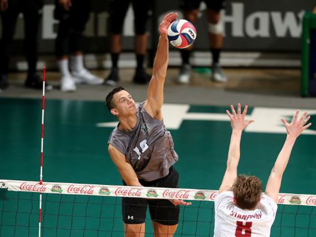 No. 2 Hawaii sweeps through No. 12 CSUN, 3-0