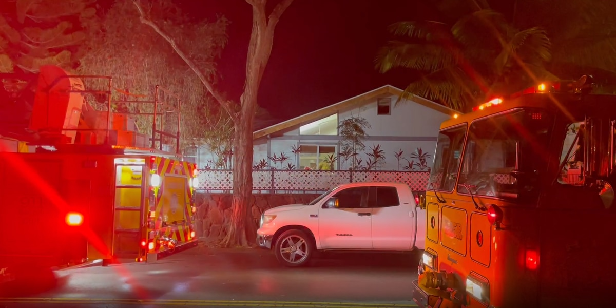 Damage from 2-alarm house fire in Mililani estimated at $170,000