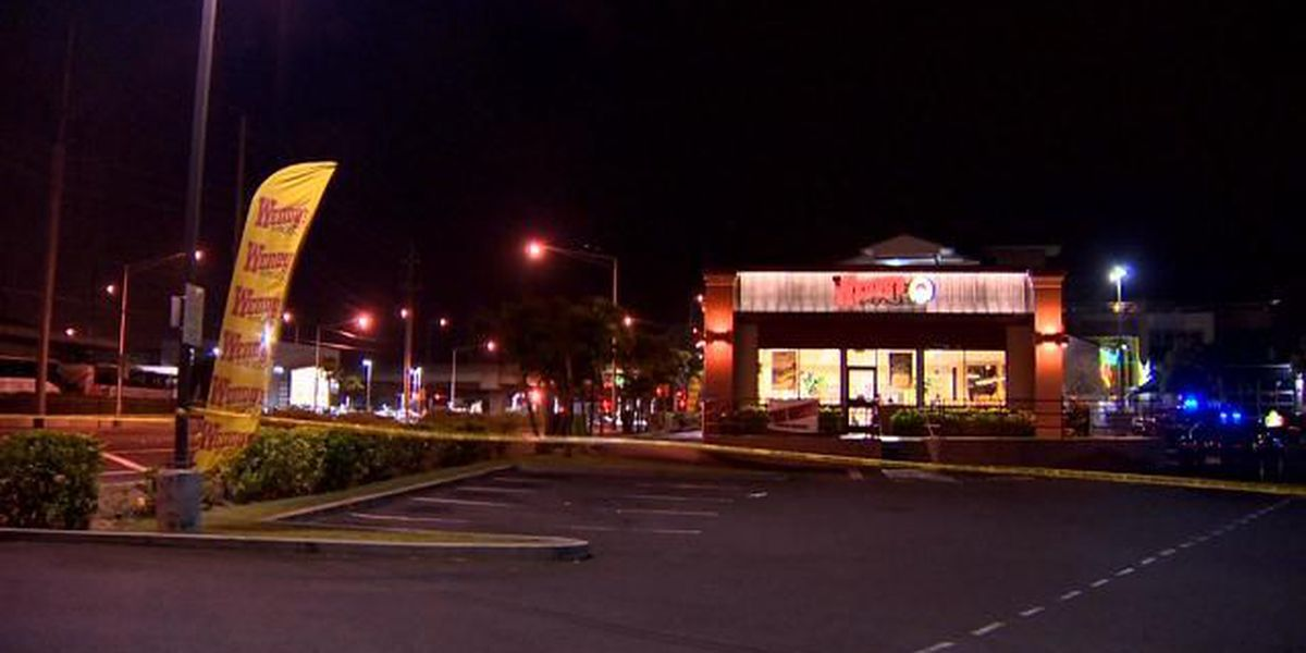 Armed robbery at Mapunapuna Wendy's prompts police investigation