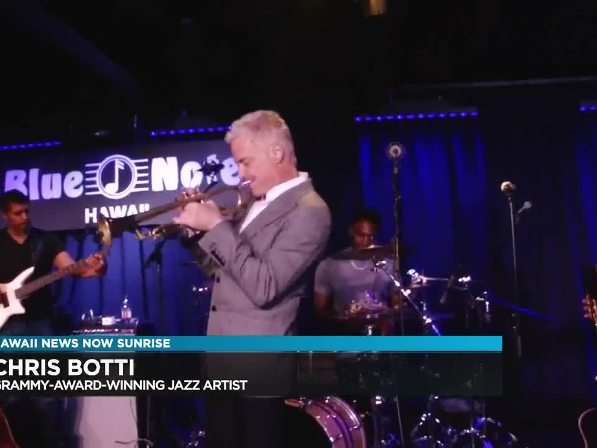 Grammy-award-winning jazz artist Chris Botti to perform in Hawaii