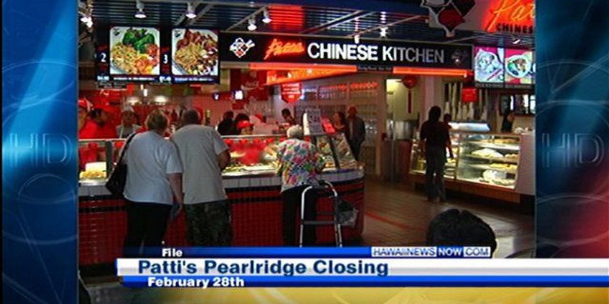 Patti's Chinese Kitchen to close after 43 years