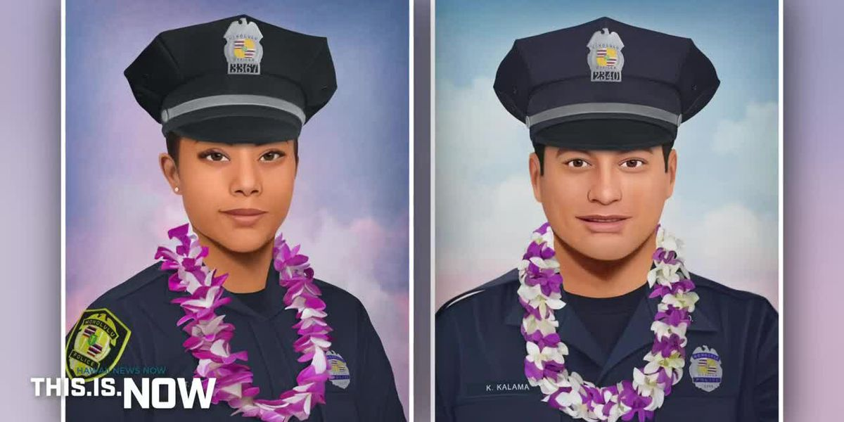 WATCH 'This is Now': Relatives, friends remember 2 officers killed in ambush