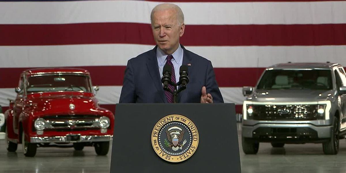 Biden's visit to spotlight electric vehicles overshadowed by Gaza violence