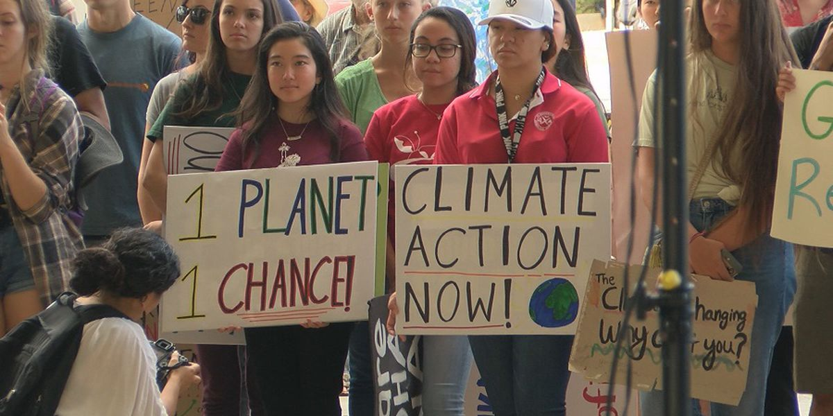 Hawaii residents to take to the streets in global climate change rally