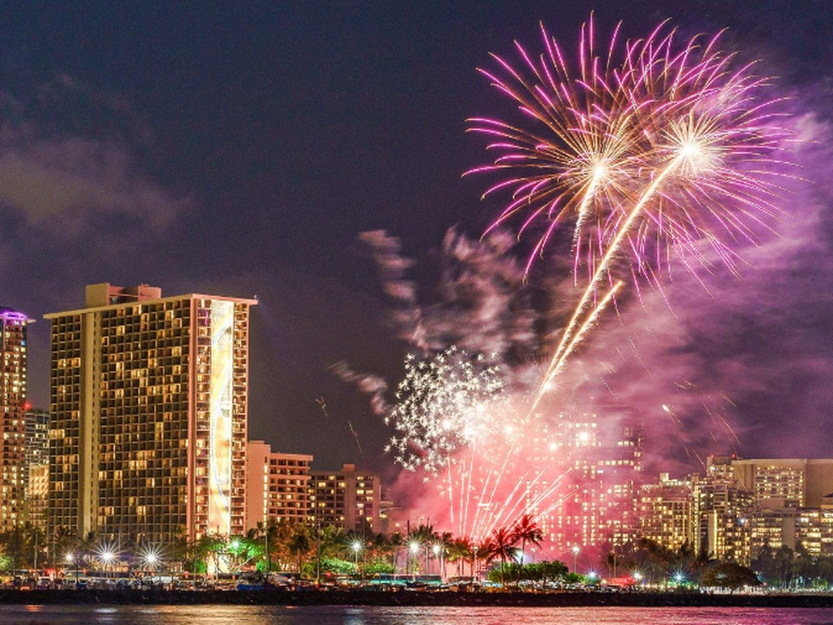 LIST: Fourth of July fireworks shows across Hawaii