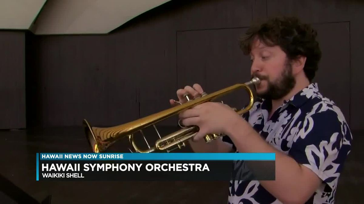 Hawaii Symphony Orchestra performs on Sunrise (Part 2)